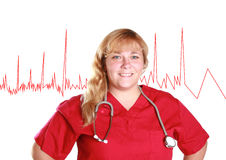Smiling nurse Royalty Free Stock Image