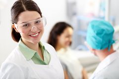 Smiling nurse Stock Photography