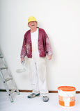 Smiling painter Royalty Free Stock Photo