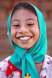 Smiling Pakistani kid Stock Images