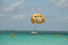 Smiling Parasail Royalty Free Stock Photo