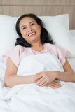 Smiling patient Royalty Free Stock Photography