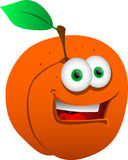 Smiling Peach Royalty Free Stock Images