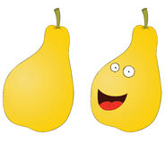 Smiling pear Royalty Free Stock Photos