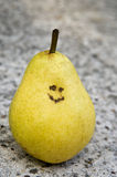 Smiling Pear Stock Image