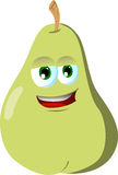 Smiling Pear Stock Photo