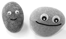 Smiling pebbles Royalty Free Stock Photography