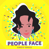 Smiling people face Royalty Free Stock Images