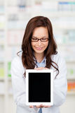 Smiling Pharmacist Royalty Free Stock Photography
