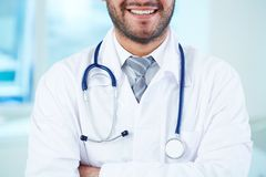 Smiling physician Stock Photo