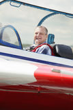 Smiling pilot Royalty Free Stock Photos