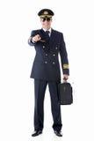 Smiling pilot Royalty Free Stock Image