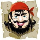 The Smiling Pirate Royalty Free Stock Photo