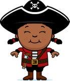 Smiling Pirate Girl Royalty Free Stock Photo
