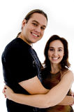 Smiling playful young couple Royalty Free Stock Photography