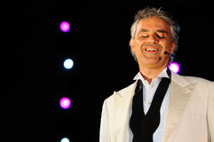 Andrea Bocelli Stock Photography