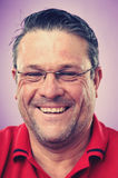 Smiling portrait man Stock Photo