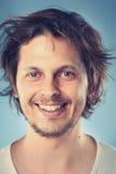Smiling portrait man Stock Photos