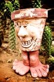 Smiling pot Stock Photography