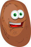 Smiling Potato Stock Images