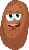Smiling Potato Stock Photography