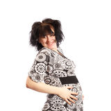 Smiling pregnant woman Royalty Free Stock Photography