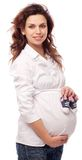 Smiling Pregnant Woman. Stock Image