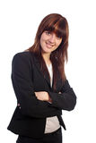 Smiling pretty businesswoman Stock Photo
