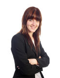 Smiling pretty businesswoman Stock Photography