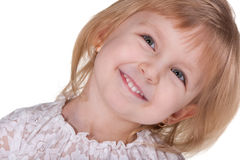 Smiling pretty girl Royalty Free Stock Image
