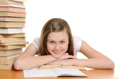 Pretty student Royalty Free Stock Photography