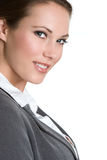 Smiling Professional Woman Stock Photo