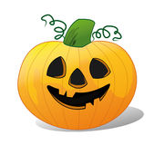 Smiling pumpkin Royalty Free Stock Photos