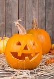 Smiling Pumpkin Stock Photos