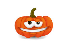 Smiling pumpkin Royalty Free Stock Photo