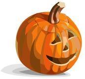 Smiling pumpkin Jack O'Lantern. Illustration of smiling pumpkin Jack O'Lantern for Halloween Royalty Free Stock Image