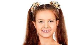 Smiling pupil Royalty Free Stock Images