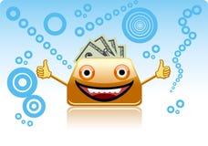 Smiling purse. Stock Image