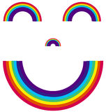 Smiling Rainbow Stock Photos