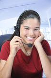 Smiling Receptionist Royalty Free Stock Photo