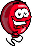 Smiling Red Balloon Stock Photography