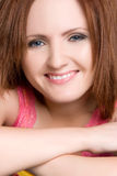 Smiling Redhead Royalty Free Stock Photo