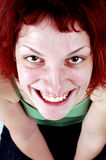 Smiling redhead girl. Stock Images