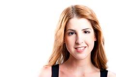 Smiling redhead looking at camera Stock Photography