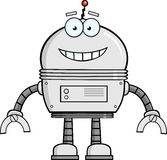 Smiling Robot Cartoon Character Royalty Free Stock Photos