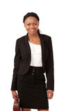 Smiling saleswoman Stock Images
