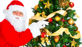 Smiling Santa Royalty Free Stock Images