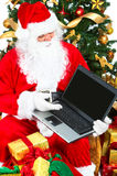 Smiling Santa Stock Photos