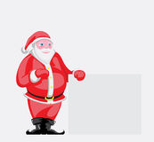 Smiling Santa Claus Royalty Free Stock Photography