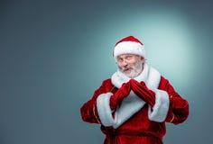 Smiling Santa Claus. Royalty Free Stock Photography